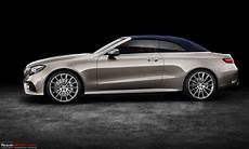 The 2017 Mercedes E Class Cabriolet Team Bhp