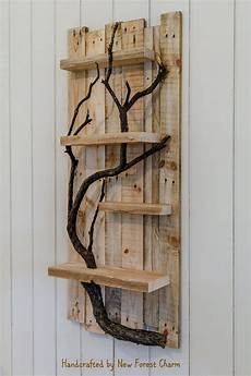 Rustic Wood Home Decor Ideas by Rustic Home Decor Wall Reclaimed Pallet Shelves Wooden