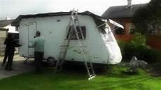 wohnanhänger selber bauen schutzdach f 252 r wohnwagen
