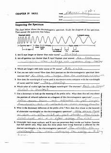 physical science electromagnetic spectrum worksheet 13191 electromagnetic spectrum worksheet spectrum ws intro level answer key electromagnetic