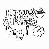 Top 25 Free Printable St Patrick's Day Coloring Pages Online
