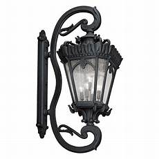 kichler black tournai collection extra large 5 light 70in outdoor wall light textured black
