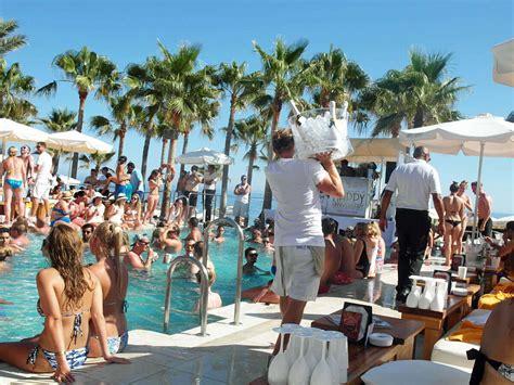 Nikki Beach Marbella Champagne Party
