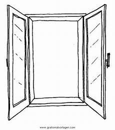 Malvorlagen Fenster Fenster 3 Gratis Malvorlage In Beliebt Diverse