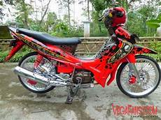 Warna Motor Jupiter Z by Kumpulan Modifikasi Jupiter Z Warna Merah Vegafans