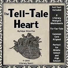 tale lesson for middle school 14997 tell tale by edgar allan poe story unit and activities middle school literature
