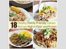 High Fiber and Protein Dinner Ideas   Real Life Dinner
