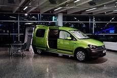 volkswagen reveals caddy cervan forcegt