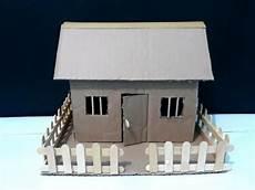 Cara Mudah Membuat Rumah Dari Kardus Bekas