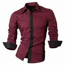 jual kemeja pria silm fit warna hitam dan abu pakaian pria terbaru harga murah baju kemeja