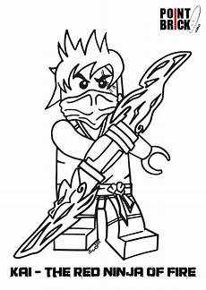 disegni da colorare lego ninjago e friends coloriage