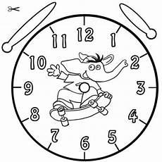 Malvorlage Uhr Lernen Kostenlose Malvorlage Uhrzeit Lernen Ausmalbild Bimbo Zum