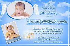 invitation card christening layout invitation for christening layout invitation card for