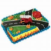 Fire Truck & Rescue Cake Decoration Set Fireman  EBay