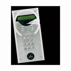 Platine Interphone Immeuble Platine Gsm Interphone Audio Inox A Encastree Pour