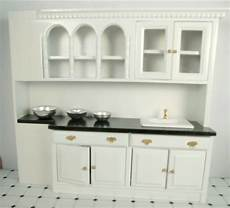 Dollhouse Kitchen Furniture Dollhouse Furniture Kitchen Cabinets With Sink Miniature