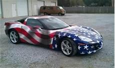 corvette american flag wrap america the beautiful