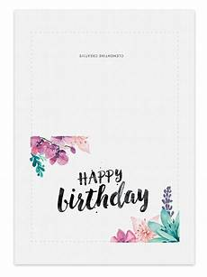 free birthday card templates to printable birthday card for clementine creative