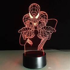 2020 3d light supplies creative spiderman 3d