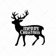 merry christmas christmas deer black pattern white background winter pattern stock