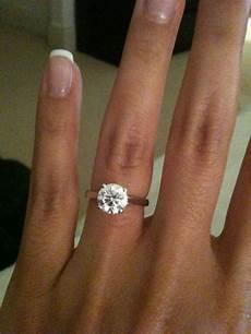 plain band engagement ring rings pinterest