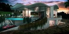 futuristic villa in futuristic vanguard villa with breathtaking 360 186 views in