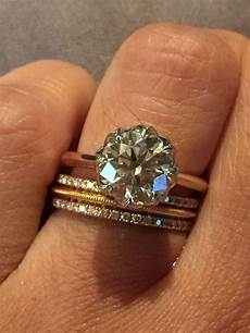 rose gold and platinum cvb setting my with t co