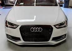 grill rs4 look schwarz audi a4 s4 b8 facelift 2012 2016
