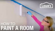 how to paint a room basic painting tips youtube