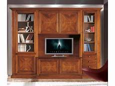 parete attrezzata soggiorno classica parete attrezzata classica legno