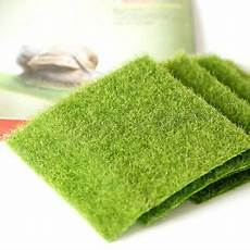 moss carpet sheet mat artificial flat green grass train
