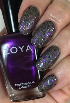 ehmkay nails mardi gras nail art festive layered sting