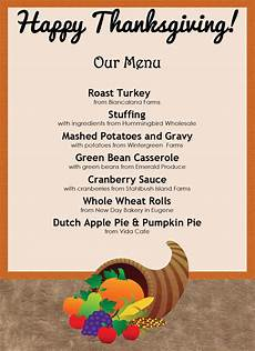 thanksgiving menu card template free 35 awesome thanksgiving menu templates ᐅ template lab