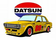 Datsun 510 Race Car I Used To Have A  Machines