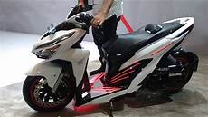 Modif Stiker Vario 150 by Modifikasi Honda All New Vario 150 Low Rider Edan