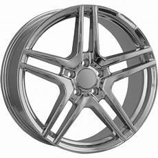 mercedes felgen 18 zoll 18 staggered chrome mercedes wheels 85400