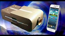 avon smartphone projector review 163 9 build your own cardboard thingy youtube