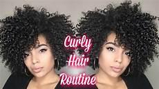 big curly hair routine wash and go short medium length hair youtube