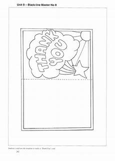 Thank You Card Template Pages by Cards Coloring Pages At Getcolorings Free