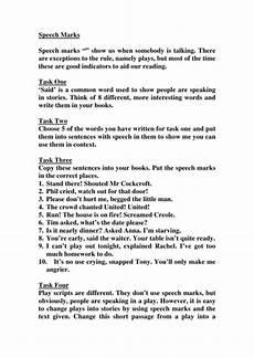 yr 5 6 speech punctuation by matthewgreg teaching