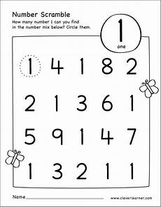 shapes and numbers worksheets for preschoolers 1207 free printable scramble number activity with images numbers preschool number activities