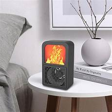 Bakeey Mini Handheld Gears Adjustable Hanging by Bakeey 400w Intelligent Mini Space Heater Fan 2 Gear