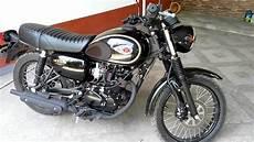 Kawasaki W175 Se Modifikasi by Kawasaki W175 Se Hitam Review