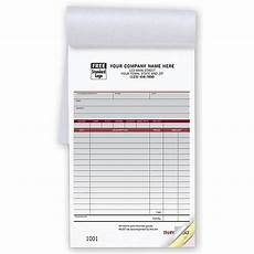 custom sales receipt book designsnprint