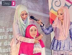 Gambar Tutorial Cara Memakai Jilbab Modern
