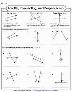 geometry lines worksheets 791 parallel perpendicular and intersecting lines basic geometry worksheet parallel perpendi