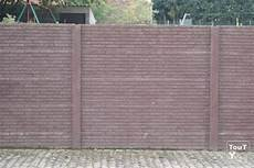 palissade jardin beton cloture beton palissade cherbourg octeville 50100