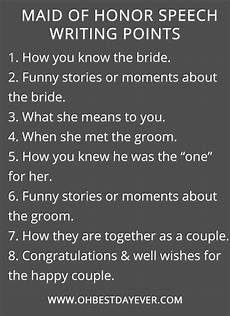 How To Write A Of Honor Speech oh best day all about wedding ideas and colors