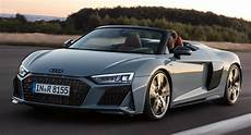 2019 audi r8 debuts with sportier styling and more powerful v10 engines carscoops