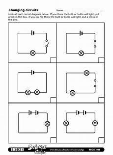 Schools Science Changing Circuits Worksheet